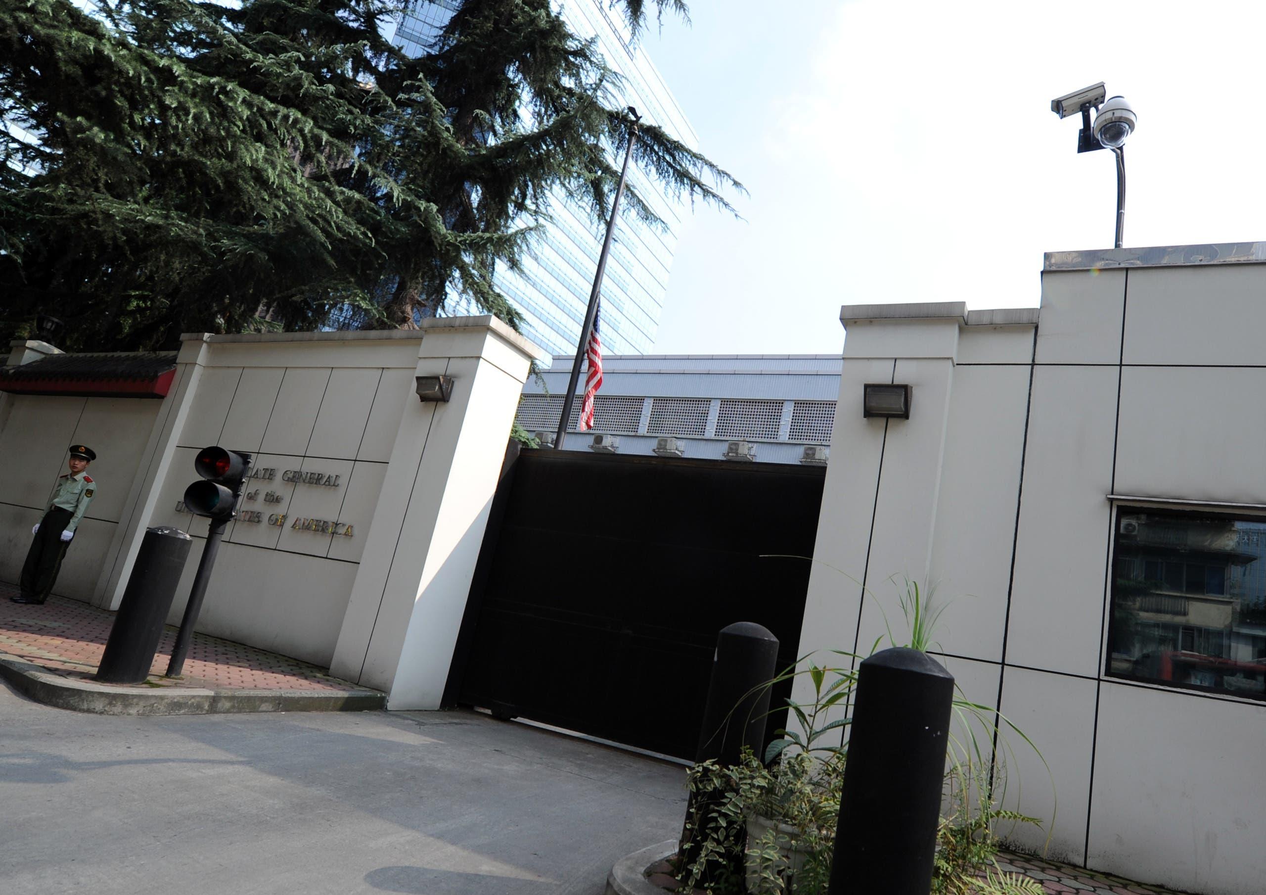 القنصلية الصينية في هيوستن(أرشيفية- فرانس برس)