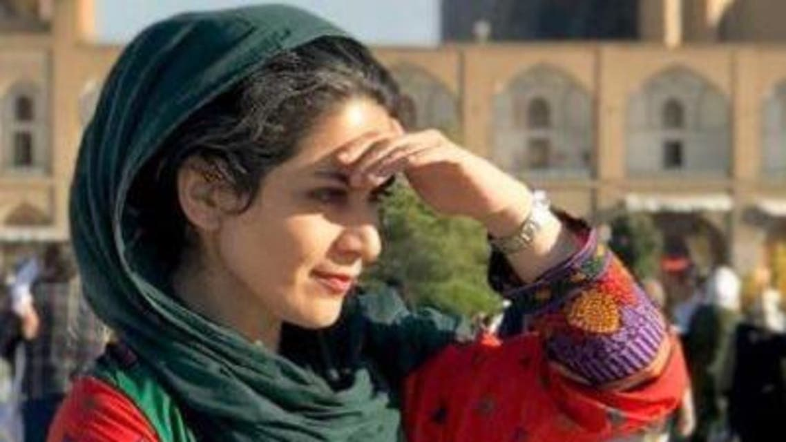 Activist Bahare Hedayat was sentenced to more than four years in prison for protesting against the Iranian regime. (Twitter: @HedayatBahare)