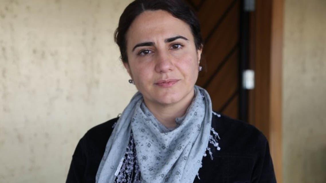 إِبرو تيمتك، المحامية المضربة عن الطعام منذ 5 فبراير الماضي.