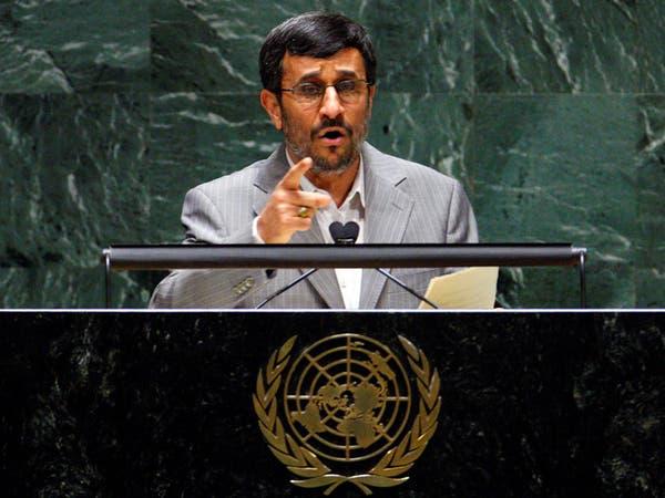 محمود أحمدي نجاد يبعث برسالة لولي العهد السعودي حول اليمن