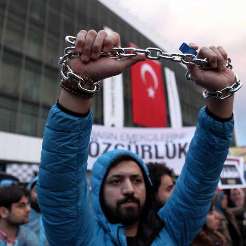 اعتقال 721 صحافياً في تركيا خلال حكم أردوغان