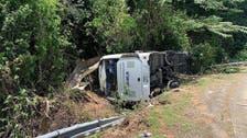 Vietnam bus crash kills 13 on way for 30th anniversary of their school graduation