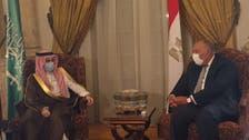 Saudi Arabia's Foreign Minister, Egyptian counterpart discuss regional developments