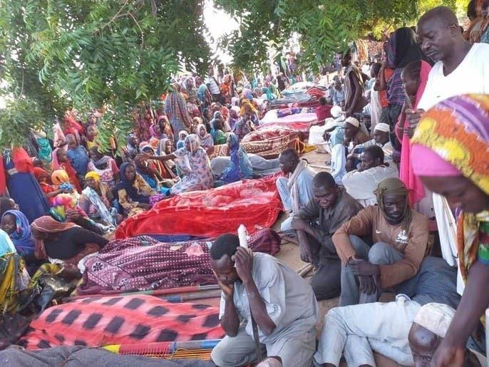 أبناء دارفور يدفنون ضحايا اشتباكات أودت بـ60 شخصاً