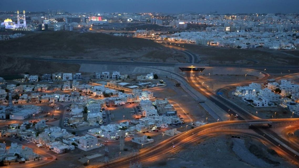An empty neighbourhood is pictured in the Omani capital Muscat amid a lockdown to prevent the spread of the coronavirus COVID-19 on July 27, 2020. (AFP)