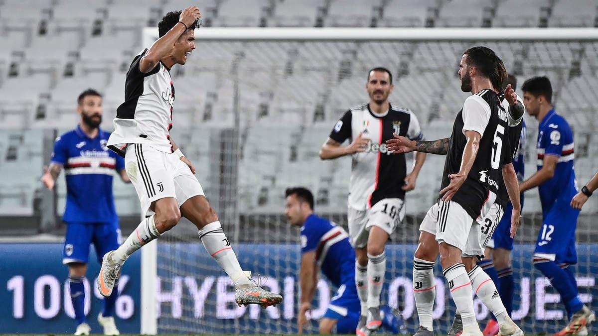 يوفنتوس يتوج بطلاً للدوري الإيطالي للمرة التاسعة على التوالي