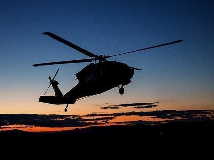 سقوط یک چرخبال ارتش افغان در هلمند افغانستان