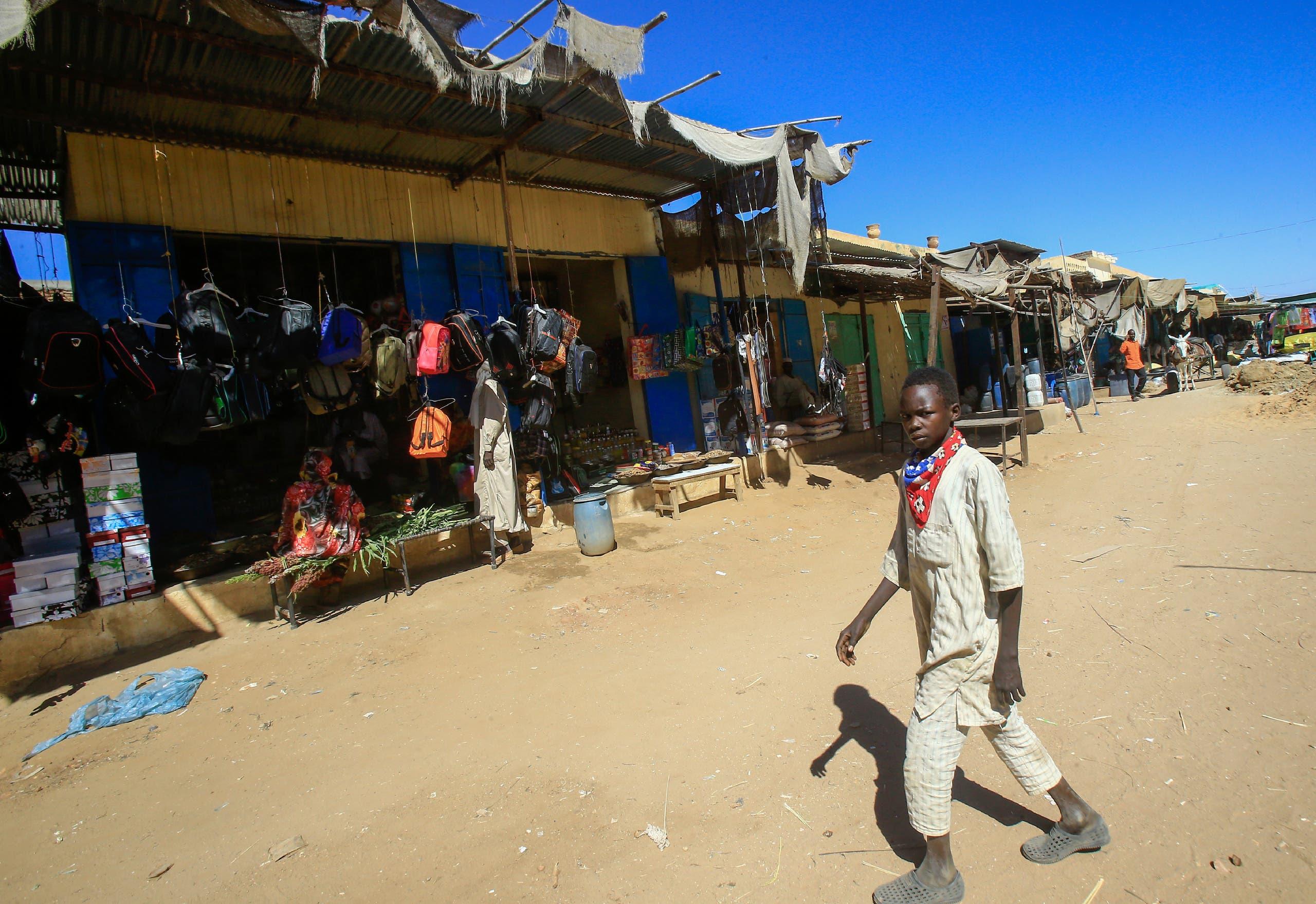مخيم نازحين في دارفور (أرشيفية)