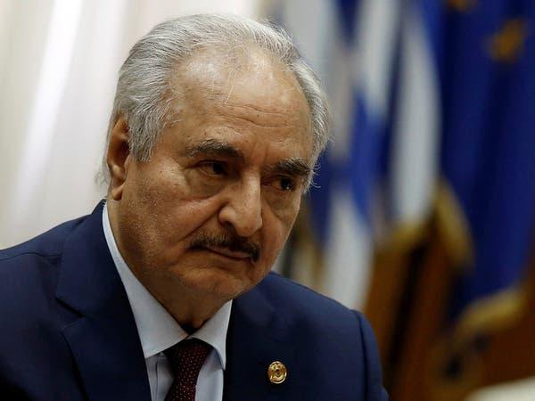 حفتر يبحث مع رئيس جنوب إفريقيا التدخل التركي في ليبيا