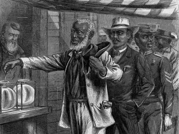 متى حصل ذوو الأصول الإفريقية على حق الانتخاب في أميركا؟