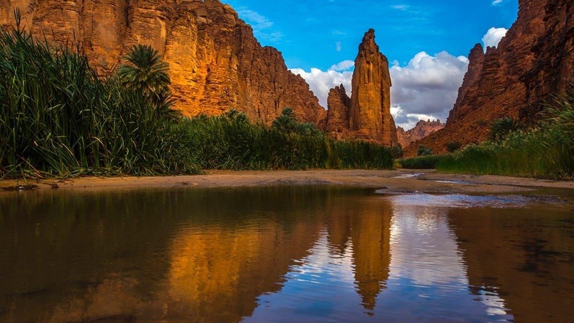 جماليات قمم الجبال في السعودية