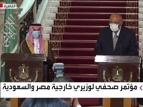 تنسيق سعودي مصري للتصدي للتدخلات والأطماع في ثروات المنطقة