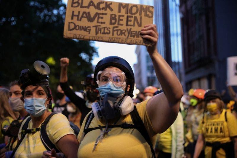 من احتجاجات بورتلاند