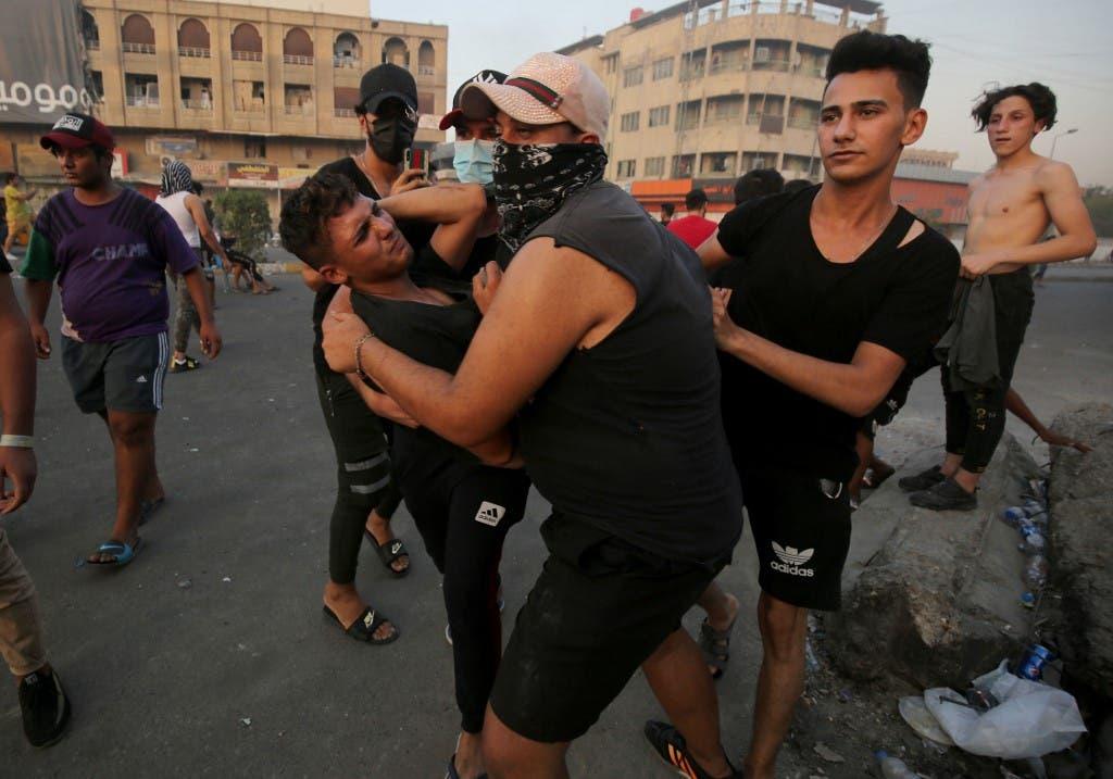 وسط بغداد - 27 يوليو 2020 فرانس برس