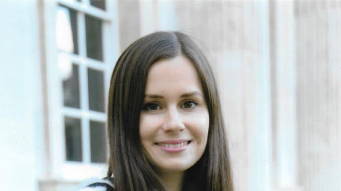 Jailed British-Australian academic Kylie Moore-Gilbert. (Twitter)