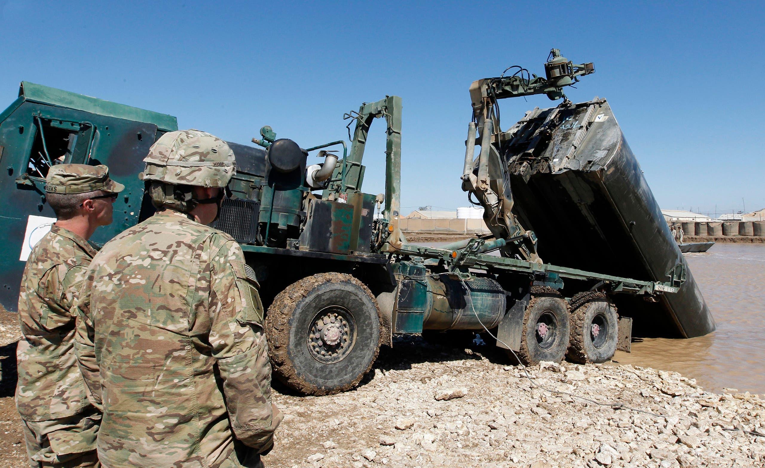 قوات أميركية في قاعدة التاجي (أرشيفية)