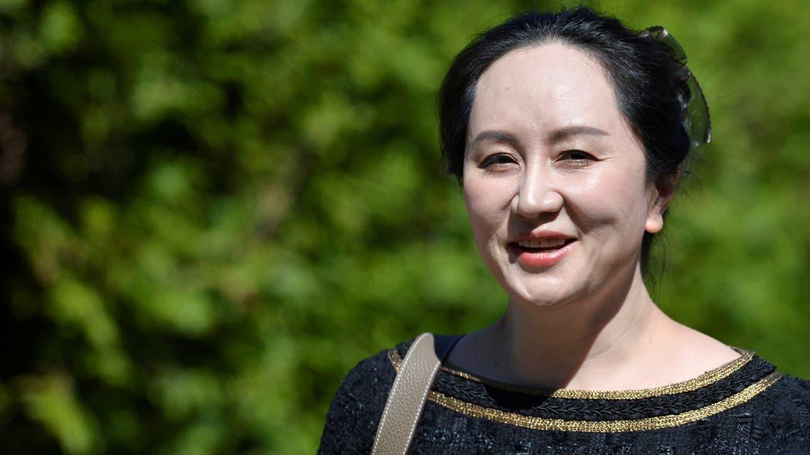 Huawei Technologies Chief Financial Officer Meng Wanzhou leaves her home to attend a court hearing in Vancouver, British Columbia, Canada May 27, 2020. (Reuters)