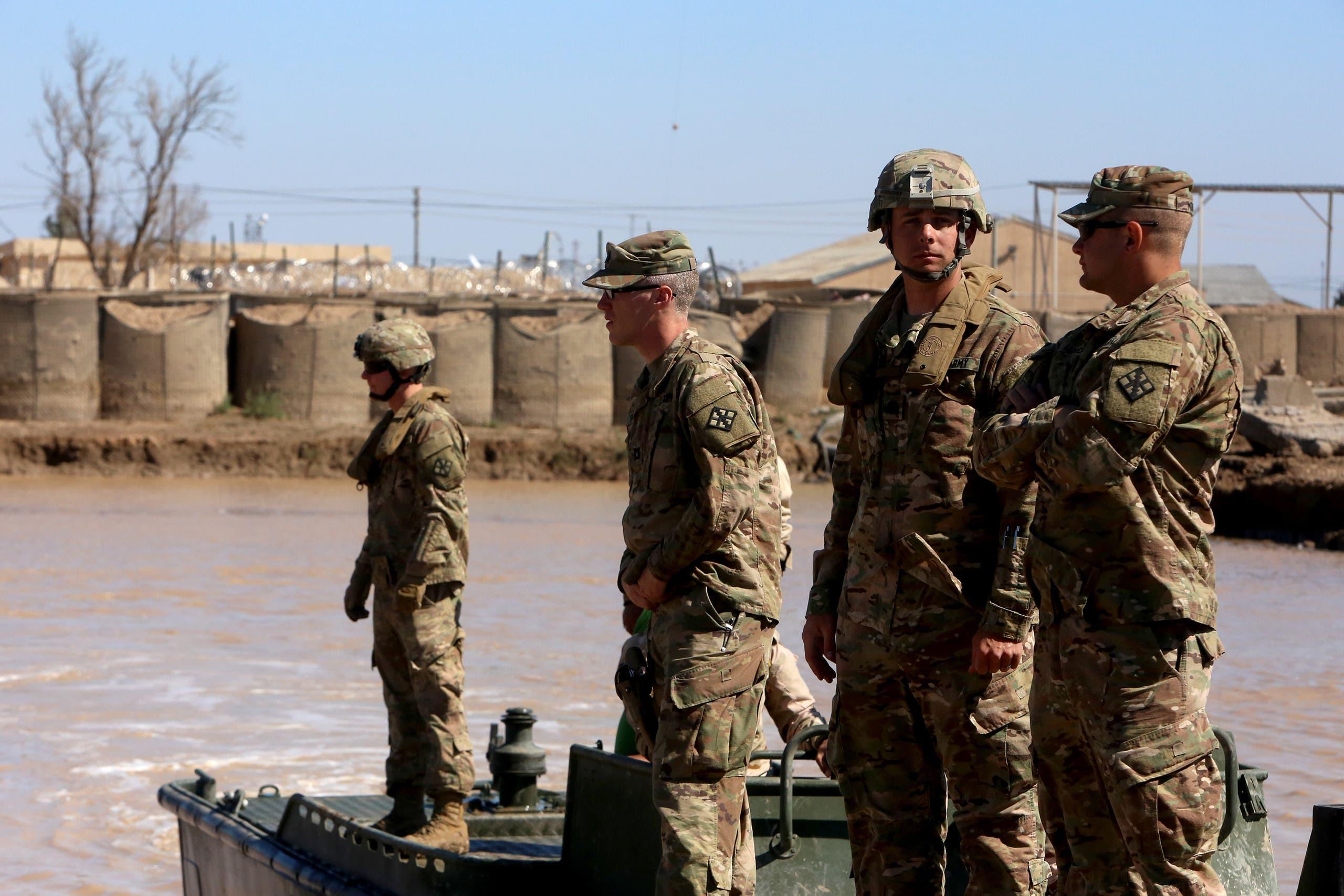 قوات أميركية في معسكر التاجي (أرشيفية)
