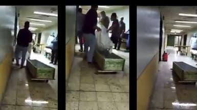 مات بكورونا فشتموا جثته في مستشفى الأسد!
