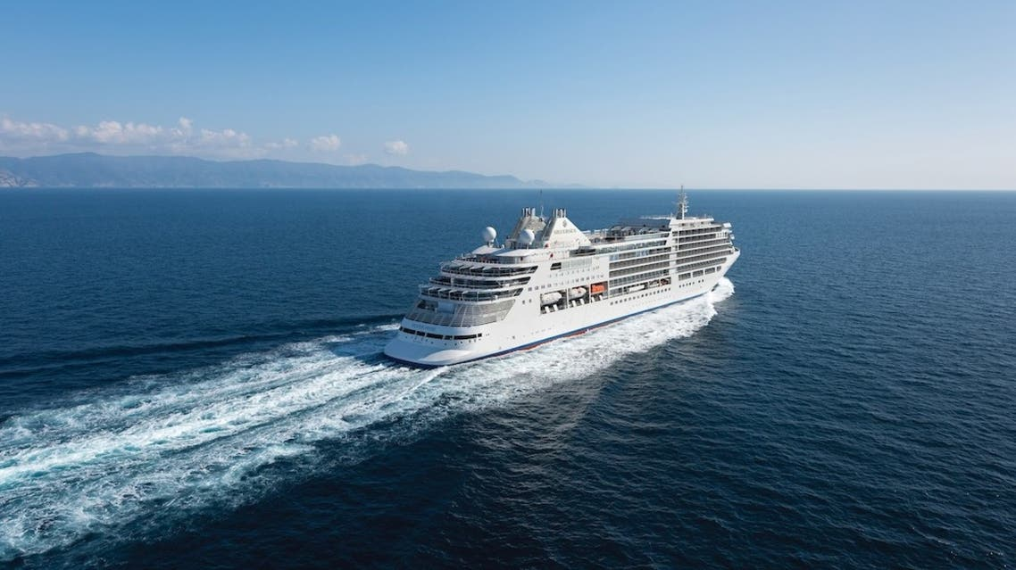 Luxury cruises will set sail for the first time on Saudi Arabia's Red Sea coast. (Twitter)