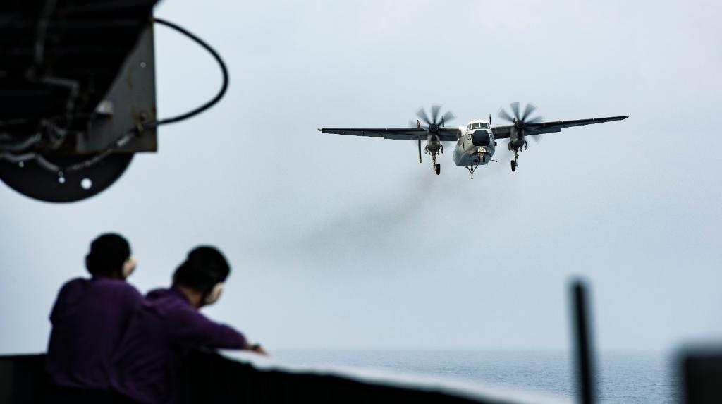 مناورات للبحرية الأميركية في بحر العرب