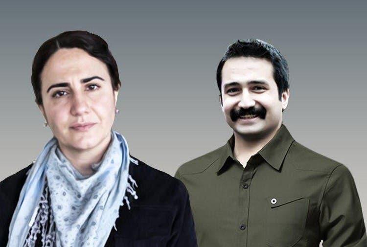 المحامية إبـِرو تيمتك والمحامي آيتاج أونسال