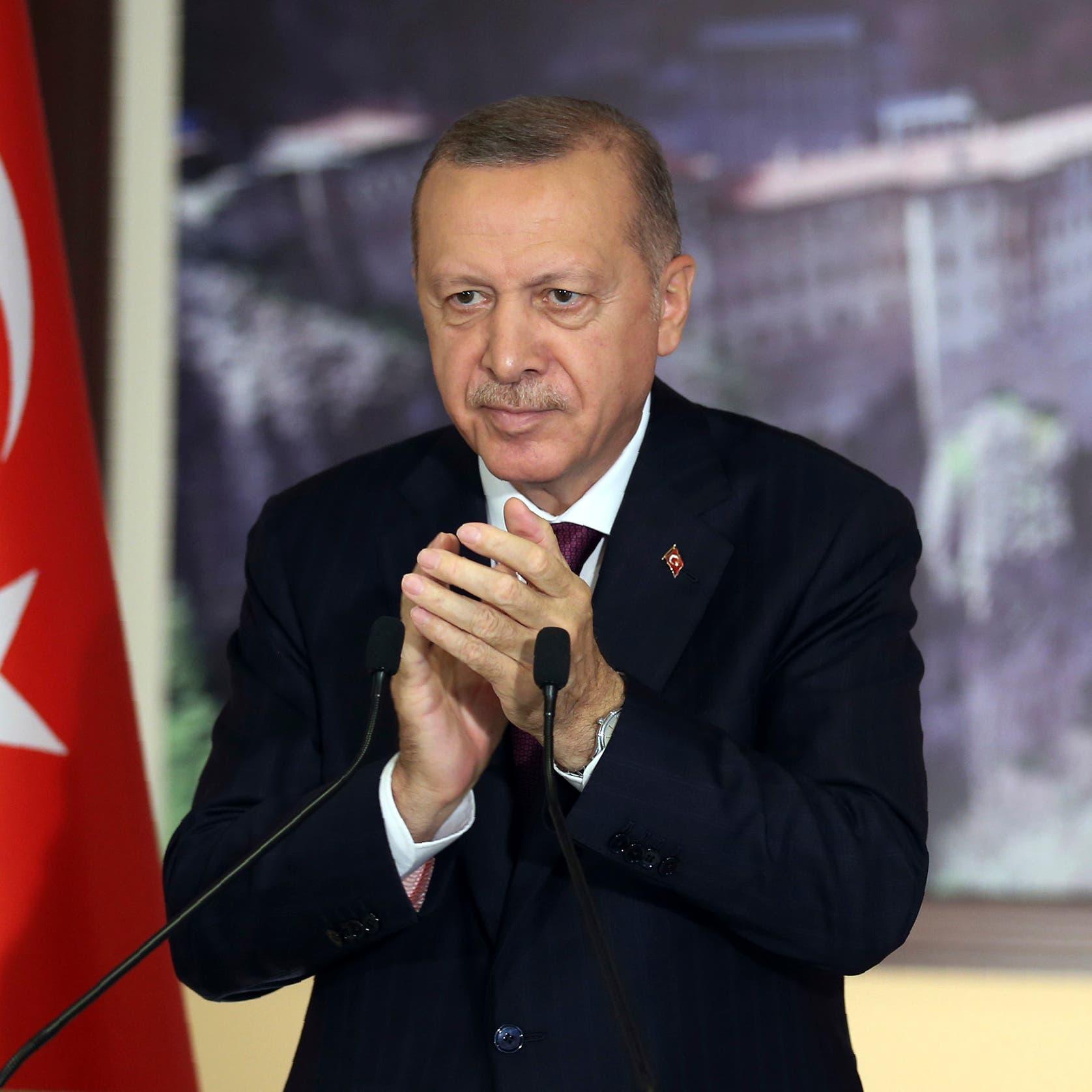 أردوغان يدعو للحوار بعد تصعيد اليونان وفرنسا في المتوسط