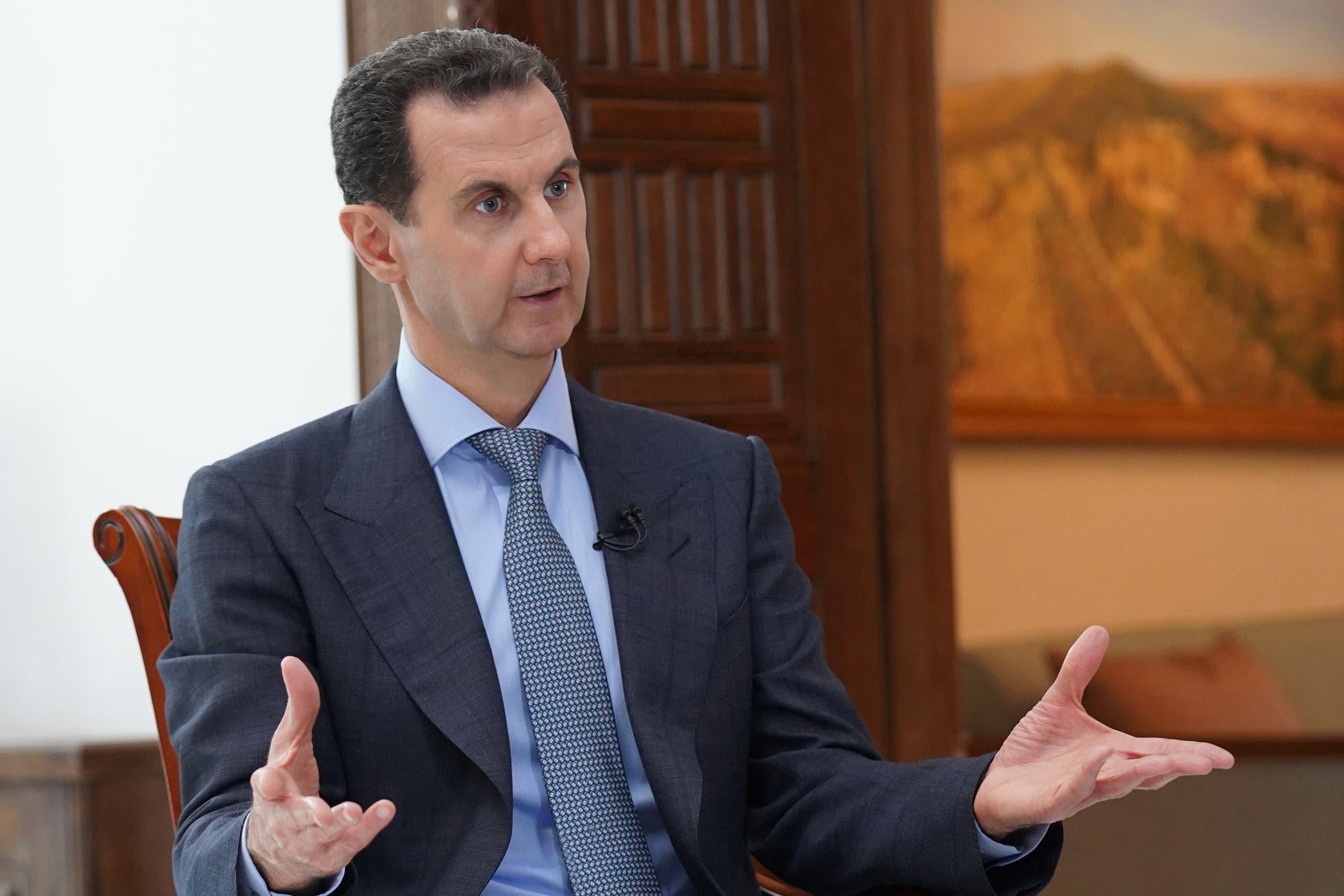 رئيس النظام السوري بشار الأسد (أرشيفية)