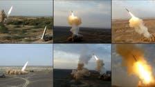 Iran's IRGC says fires ballistic missiles from underground in Gulf war games