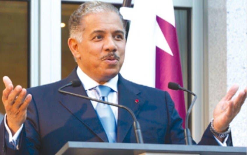 سفير الدوحة لدى بروكسل عبد الرحمن الخليفي