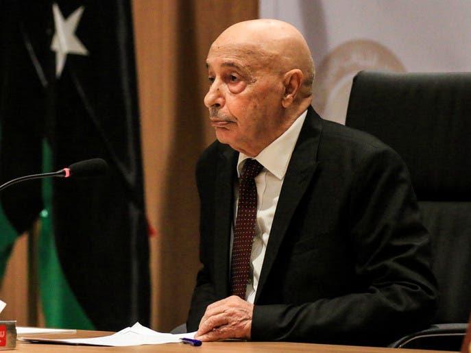 عقيلة صالح: على تركيا وقف اعتدائها وإخراج الإرهابيين