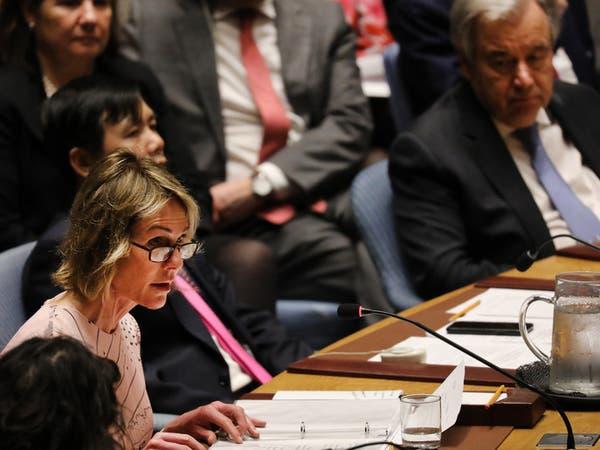 واشنطن: لا يمكن لمجلس الأمن التغاضي عن سلوك طهران