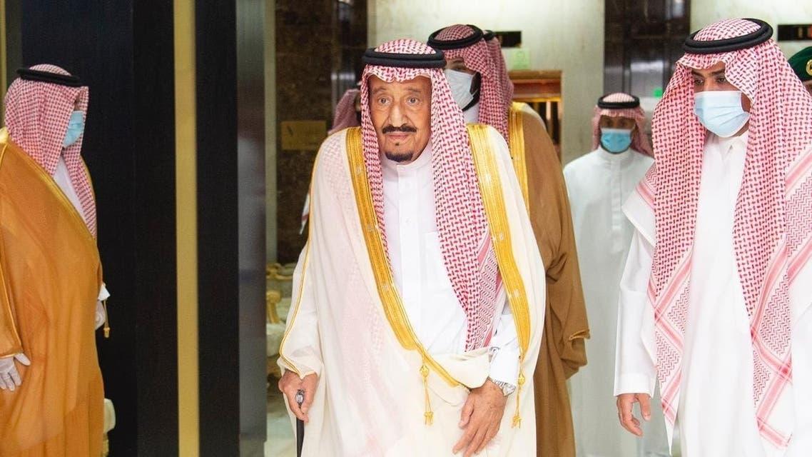خادمالحرمين الشريفينالملك سلمان بن عبد العزيز يغادر المستشفى