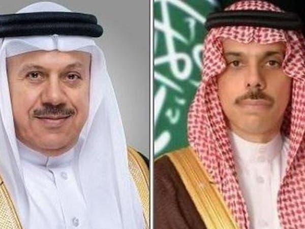 وزيرا الخارجية السعودي والبحريني يؤكدان أهمية وقف النار في ليبيا