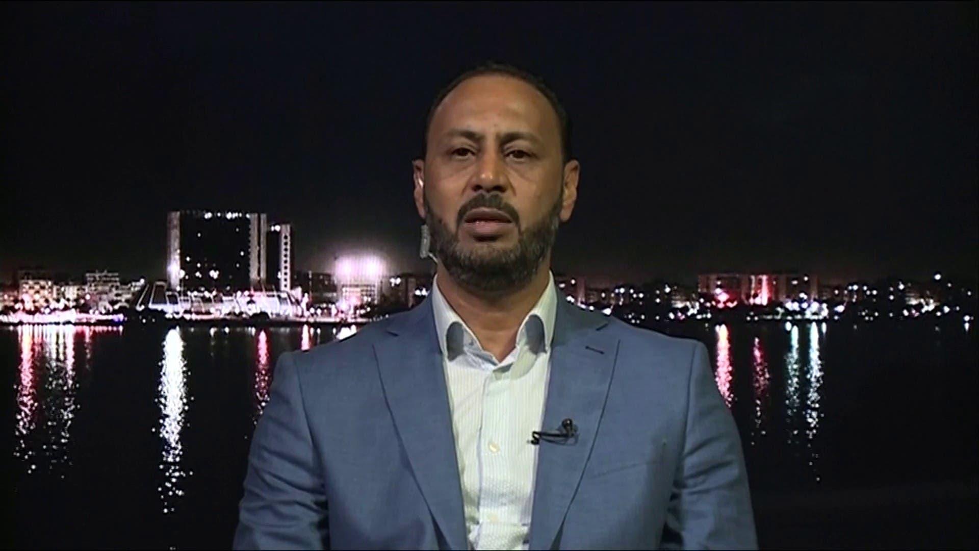 النائب في البرلمان الليبي إدريس المغربي