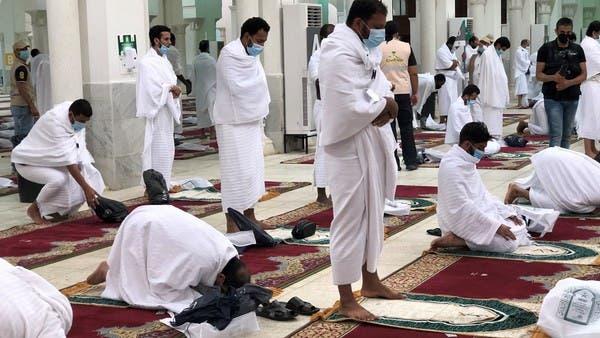 من داخل مسجد نمرة (تصوير هاني الصفيان)