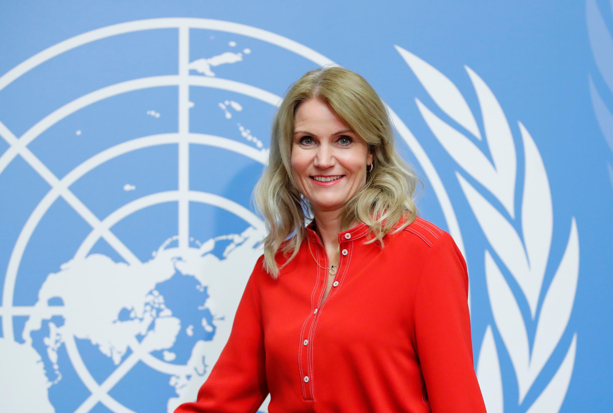 رئيسة الوزراء الدنمركية السابقة هيلي ثورنينج