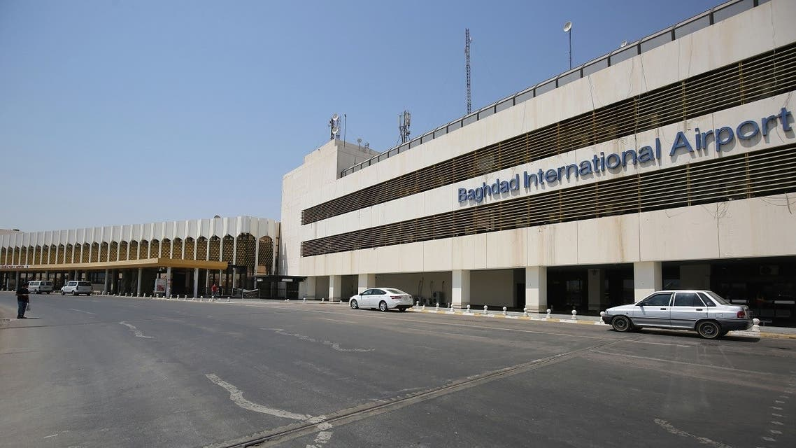 The Baghdad international airport is pictured following its reopening on July 23. (AFP)