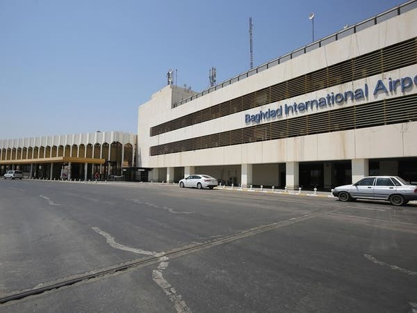تزامن مع توجه الكاظمي لواشنطن.. سقوط صاروخ على مطار بغداد
