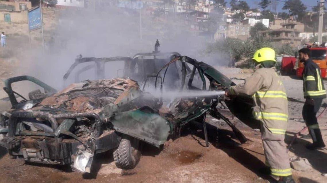 Afghanistan: Car blasti in Kabul