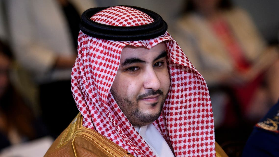 Saudi Arabia's Vice Minister of Defense Prince Khalid bin Salman waits for a meeting with US Secretary of Defense Mark Esper and others at the Pentagon August 29, 2019, in Washington, DC.
