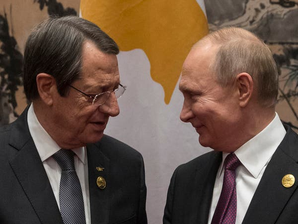 قبرص تستنجد ببوتين لوقف التنقيب التركي قبالة شواطئها