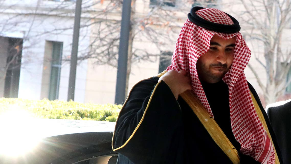 WASHINGTON, DC - JANUARY 06: Saudi Deputy Minister of Defense Khalid bin Salman Al Saud, arrives at the Department of State for a meeting with Secretary of State Mike Pompeo on January 06, 2020 in Washington, DC. Tensions are high in the middle-east after a U.S. air strike in Iraq that killed Qassem Soleimani, a top Iranian military leader. Mark Wilson/Getty Images/AFP