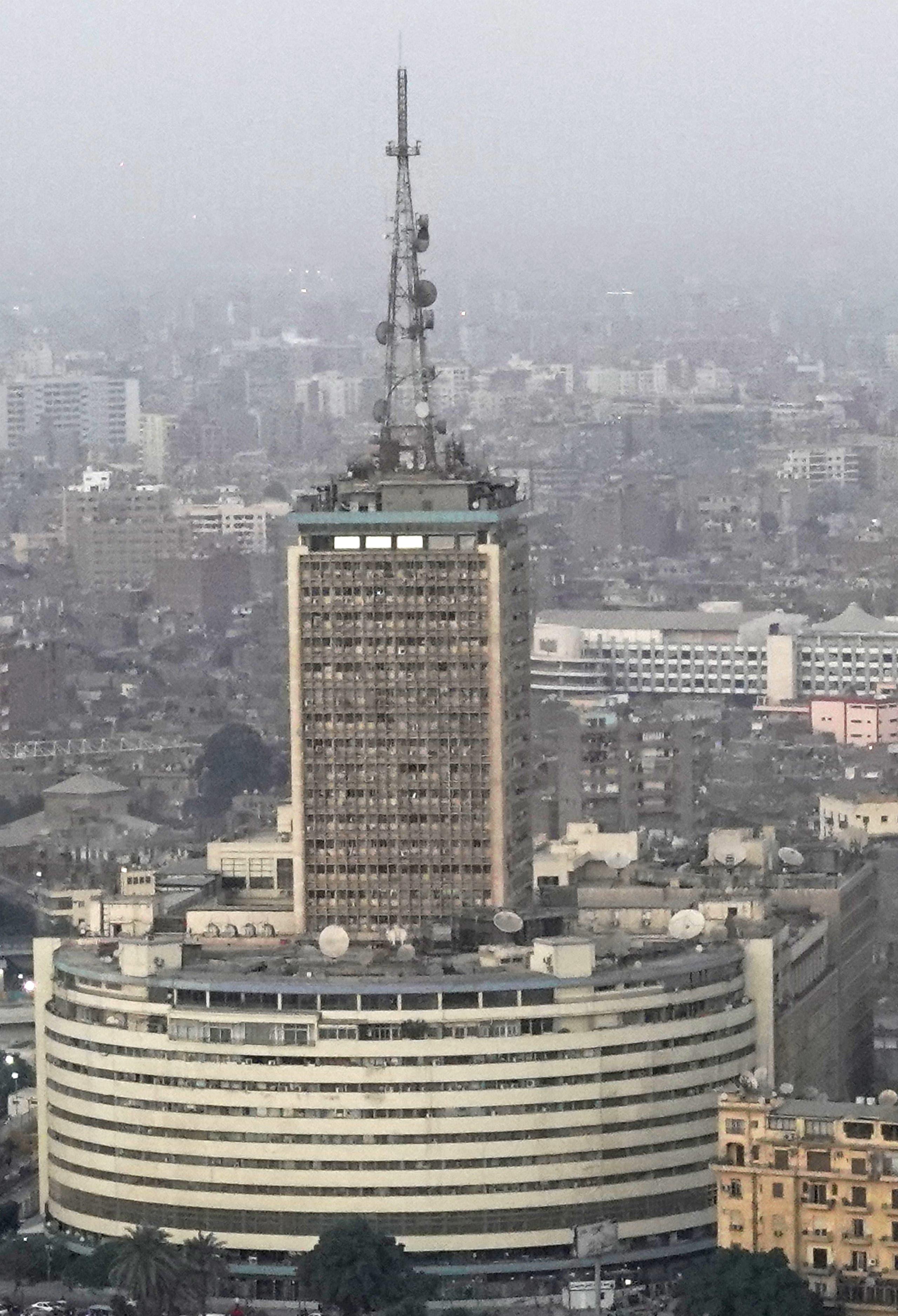 مبنى الإذاعة والتلفزيون المصري