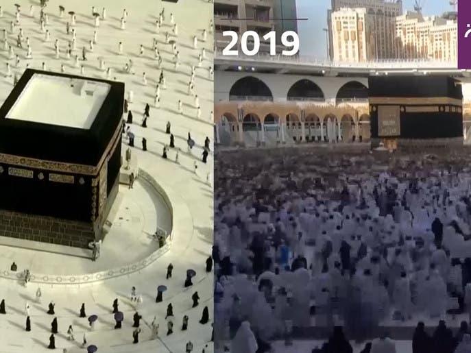 مقایسه تعداد حجاج در سال جاری و سال گذشته