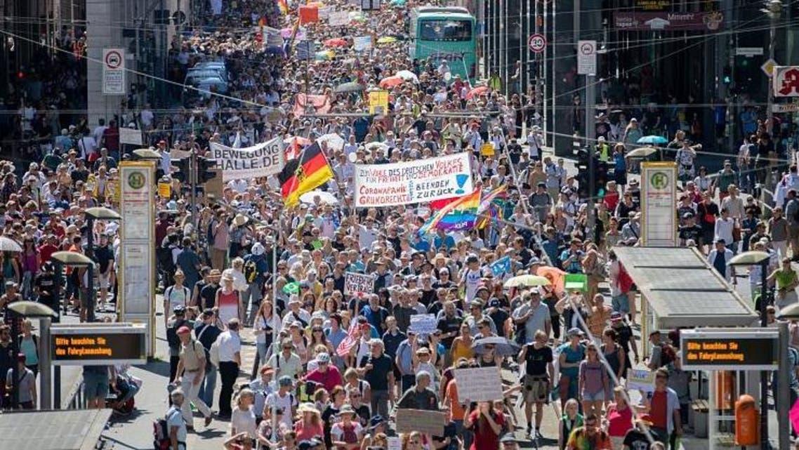 احتجاج في ألمانيا
