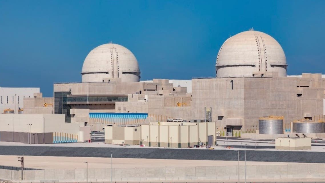The Barakah Nuclear Energy Plant in Abu Dhabi. (Twitter)