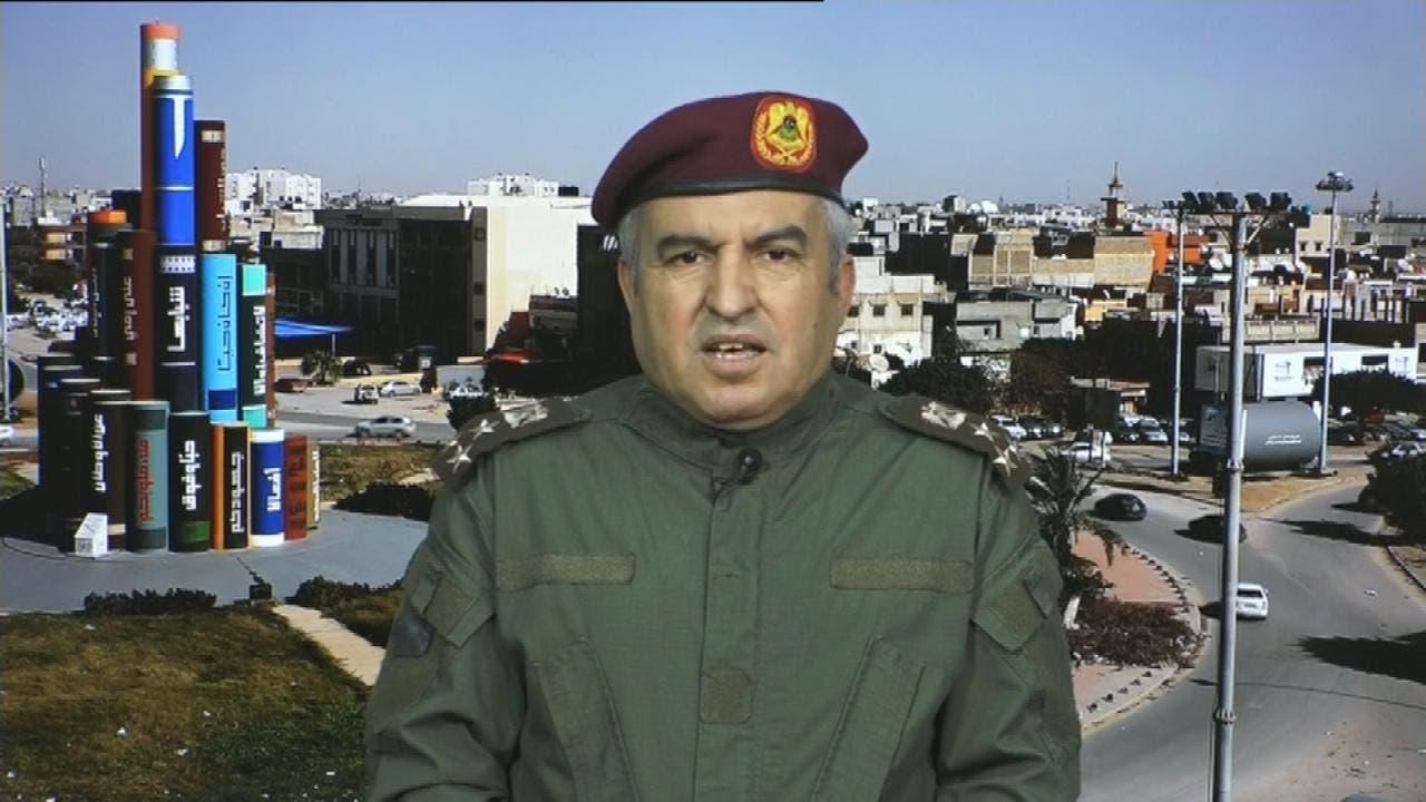مدير التوجيه المعنوي في الجيش الليبي خالد المحجوب