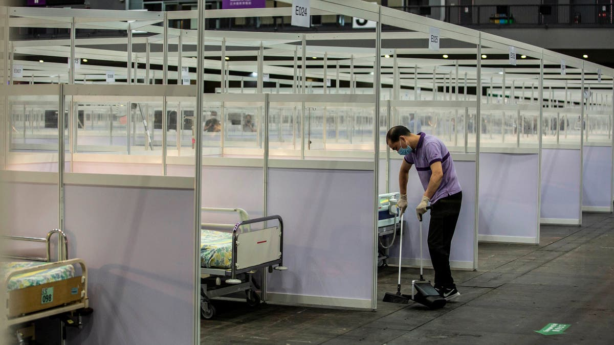 Coronavirus: Hong Kong opens 500-bed makeshift hospital for COVID-19 patients thumbnail