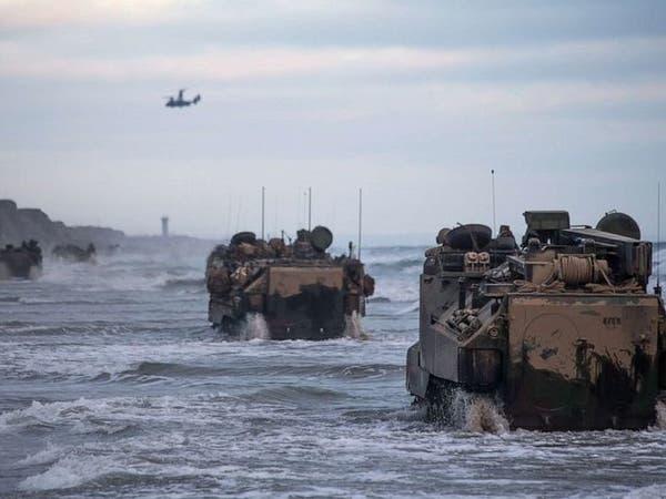 مقتل جندي أميركي وفقدان 8 في غرق دبابة قبالة كاليفورنيا